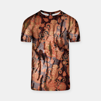 Thumbnail image of Texture Paisleys T-shirt, Live Heroes
