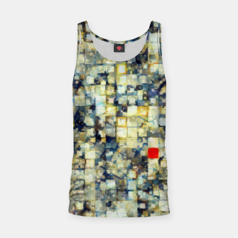 Miniatur The Red Square Tank Top, Live Heroes