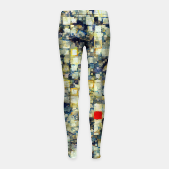 Thumbnail image of The Red Square Girl's leggings, Live Heroes