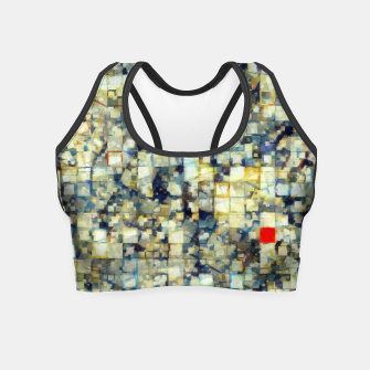Thumbnail image of The Red Square Crop Top, Live Heroes