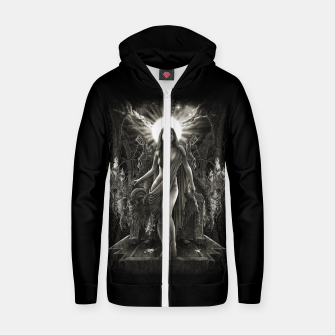 Winya No. 140 Cotton zip up hoodie thumbnail image