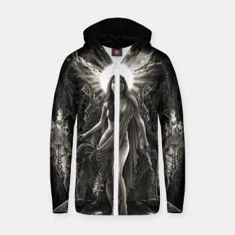 Imagen en miniatura de Winya No. 140 Cotton zip up hoodie, Live Heroes