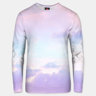 Thumbnail image of Unicorn Pastel Clouds #1 #decor #art  Baumwoll sweatshirt, Live Heroes