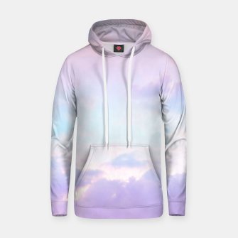 Thumbnail image of Unicorn Pastel Clouds #1 #decor #art  Baumwoll Kapuzenpullover, Live Heroes