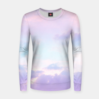 Miniaturka Unicorn Pastel Clouds #1 #decor #art  Frauen baumwoll sweatshirt, Live Heroes