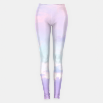 Thumbnail image of Unicorn Pastel Clouds #1 #decor #art  Leggings, Live Heroes