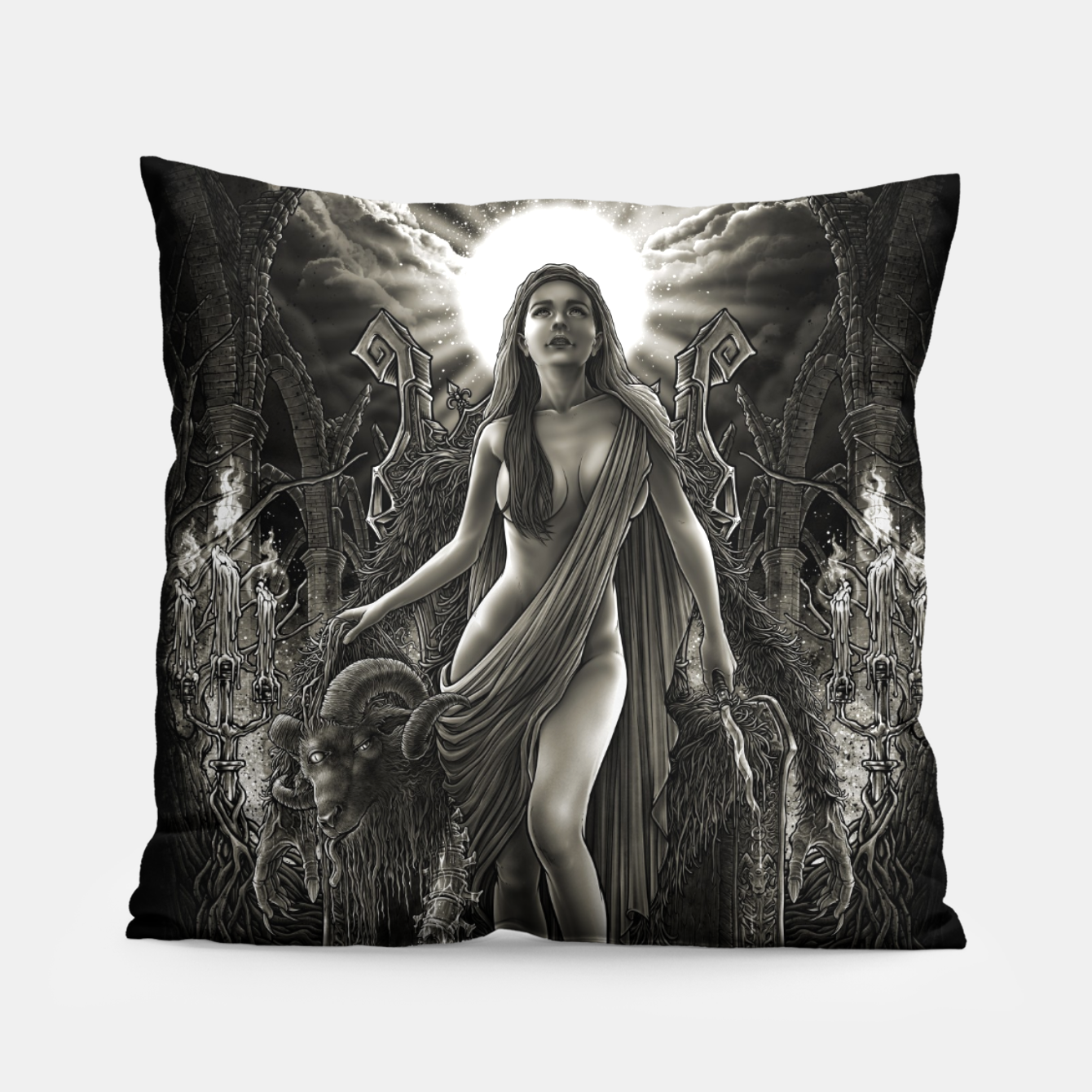 Image of Winya No. 140 Pillow - Live Heroes