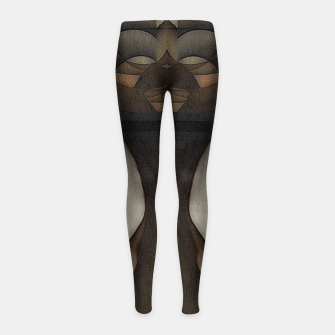 Thumbnail image of queen of africa Girl's leggings, Live Heroes