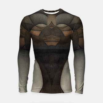 Thumbnail image of queen of africa Longsleeve rashguard , Live Heroes
