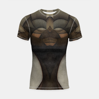 Thumbnail image of queen of africa Shortsleeve rashguard, Live Heroes