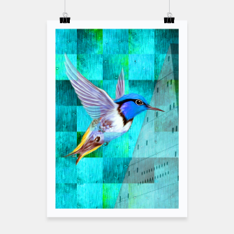Thumbnail image of Hummingbird Poster, Live Heroes