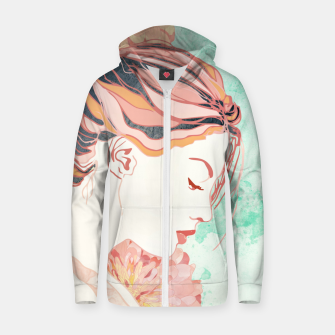 Thumbnail image of Daydream Cotton zip up hoodie, Live Heroes