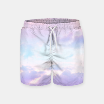 Thumbnail image of Unicorn Pastel Clouds #1 #decor #art  Badeshorts, Live Heroes