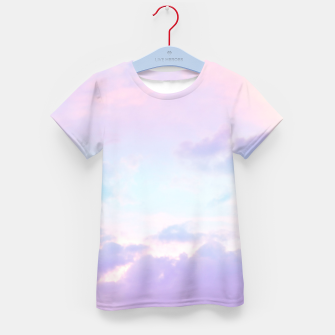 Thumbnail image of Unicorn Pastel Clouds #1 #decor #art  T-Shirt für kinder, Live Heroes