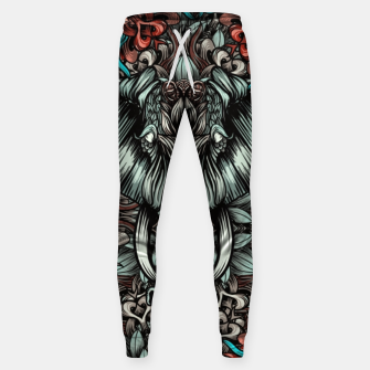 Thumbnail image of Elephant and flowers Cotton sweatpants, Live Heroes