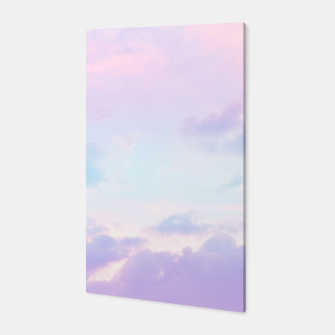 Thumbnail image of Unicorn Pastel Clouds #1 #decor #art  Canvas, Live Heroes