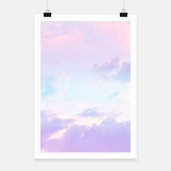 Thumbnail image of Unicorn Pastel Clouds #1 #decor #art  Plakat, Live Heroes