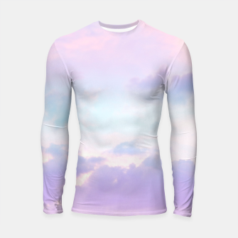 Thumbnail image of Unicorn Pastel Clouds #1 #decor #art  Longsleeve rashguard, Live Heroes