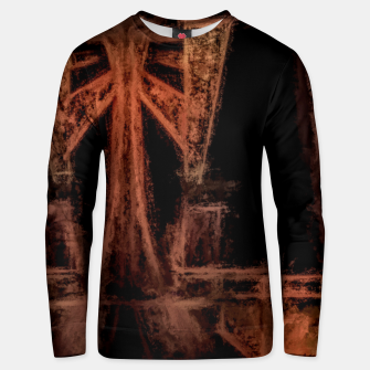 Thumbnail image of ancient symbols Cotton sweater, Live Heroes
