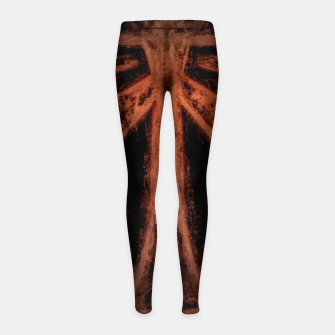Thumbnail image of ancient symbols Girl's leggings, Live Heroes