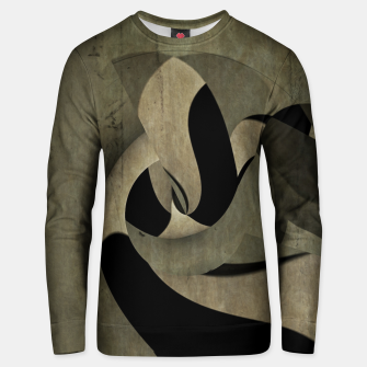 Thumbnail image of crow abstract Cotton sweater, Live Heroes