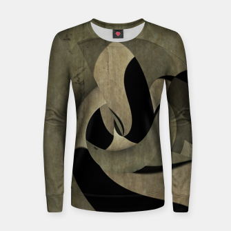 Miniaturka crow abstract Woman cotton sweater, Live Heroes