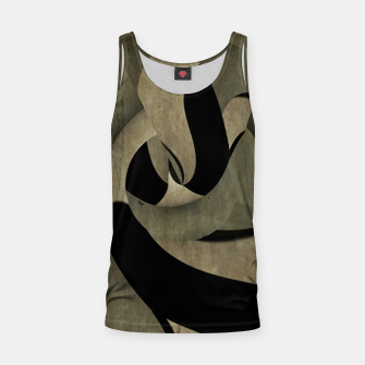 Miniatur crow abstract Tank Top, Live Heroes