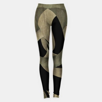 Miniaturka crow abstract Leggings, Live Heroes