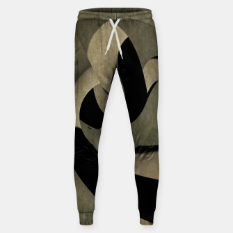 Thumbnail image of crow abstract Cotton sweatpants, Live Heroes