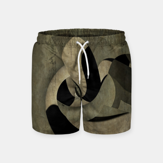 Imagen en miniatura de crow abstract Swim Shorts, Live Heroes