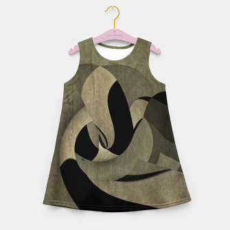 Imagen en miniatura de crow abstract Girl's summer dress, Live Heroes