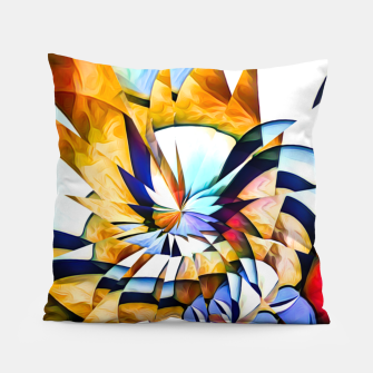 Miniatur Birth Of A Butterfly Pillow, Live Heroes