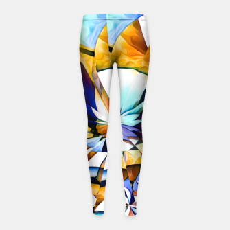 Thumbnail image of Birth Of A Butterfly Girl's leggings, Live Heroes