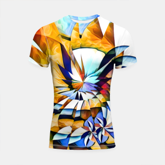 Thumbnail image of Birth Of A Butterfly Shortsleeve rashguard, Live Heroes