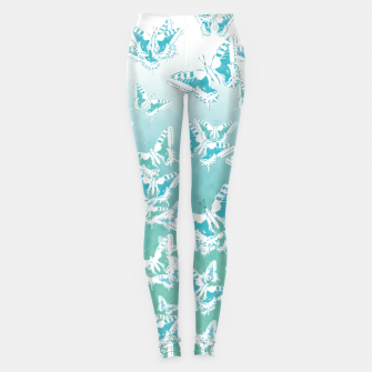 Miniature de image de blue butterflies in the sky Leggings, Live Heroes