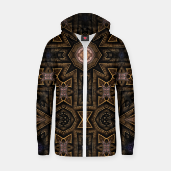 Thumbnail image of Anigan Cross Cotton zip up hoodie, Live Heroes
