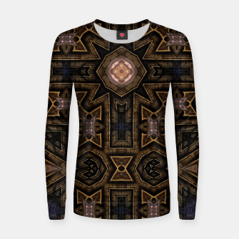 Thumbnail image of Anigan Cross Woman cotton sweater, Live Heroes