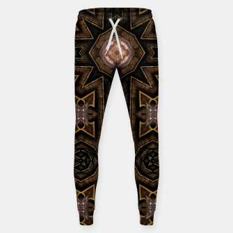 Thumbnail image of Anigan Cross Cotton sweatpants, Live Heroes