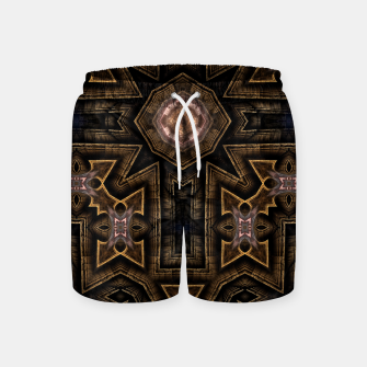 Thumbnail image of Anigan Cross Swim Shorts, Live Heroes