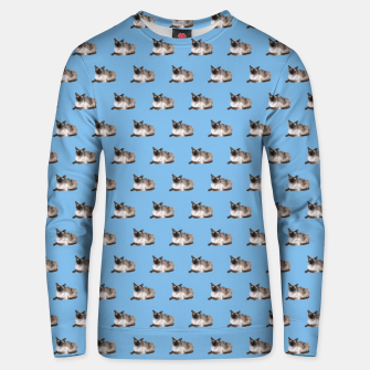 Thumbnail image of Siamese cat pattern Cotton sweater, Live Heroes