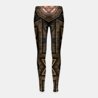 Thumbnail image of Anigan Cross Girl's leggings, Live Heroes