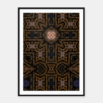 Thumbnail image of Anigan Cross Framed poster, Live Heroes