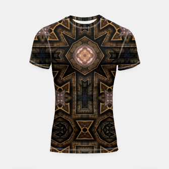Thumbnail image of Anigan Cross Shortsleeve rashguard, Live Heroes