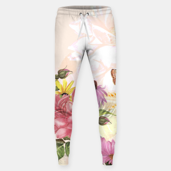 Delightful Memories Cotton sweatpants obraz miniatury