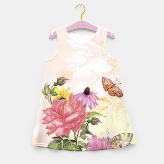 Delightful Memories Girl's summer dress obraz miniatury