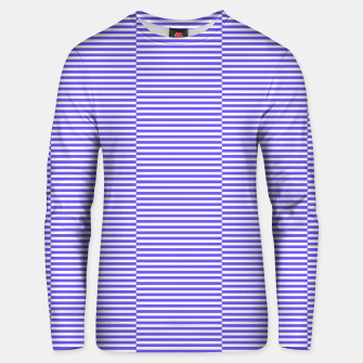 Thumbnail image of Blue strips Cotton sweater, Live Heroes