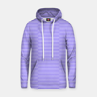 Thumbnail image of Blue strips Cotton hoodie, Live Heroes