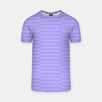 Thumbnail image of Blue strips T-shirt, Live Heroes