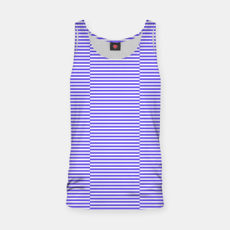 Miniatur Blue strips Tank Top, Live Heroes