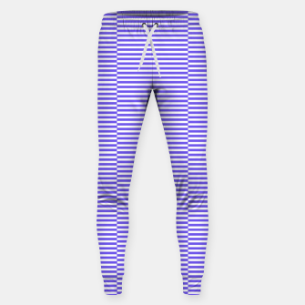 Thumbnail image of Blue strips Cotton sweatpants, Live Heroes